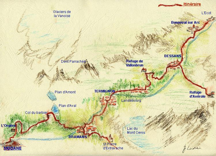 Chemin du petit bonheur for Haute maurienne