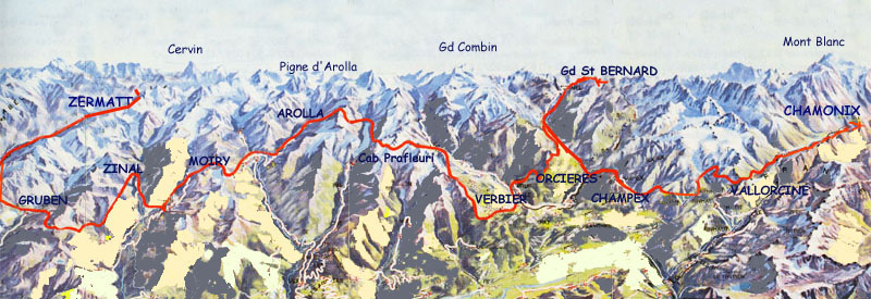 Plan Ville De Zermatt
